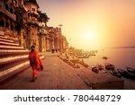 varanasi  banaras  uttar... | Shutterstock . vector #780448729