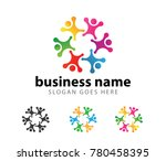 people community group dance... | Shutterstock .eps vector #780458395