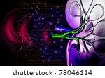 digital illustration of  kidney ... | Shutterstock . vector #78046114