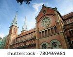 christian church on vacation | Shutterstock . vector #780469681