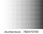 abstract futuristic halftone... | Shutterstock .eps vector #780470785
