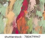 oil painting on canvas handmade.... | Shutterstock . vector #780479947