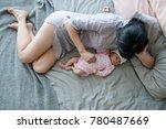 mother unity newborn baby love... | Shutterstock . vector #780487669