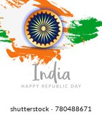 illustration of happy indian... | Shutterstock .eps vector #780488671