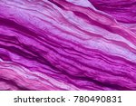 Ultraviolet Silk As Abstract...