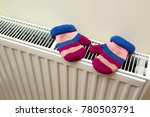 children's warm hand knitted... | Shutterstock . vector #780503791