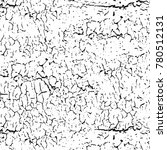 grunge black white. abstract... | Shutterstock . vector #780512131