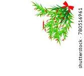 christmas tree decor | Shutterstock .eps vector #780516961