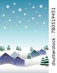 new year's vector illustrations ... | Shutterstock .eps vector #780519451