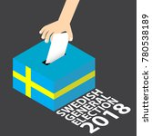 swedish general election 2018...   Shutterstock .eps vector #780538189