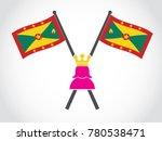 grenada emblem queen   Shutterstock .eps vector #780538471