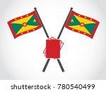grenada emblem paper   Shutterstock .eps vector #780540499
