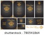 vector thai food restaurant...   Shutterstock .eps vector #780541864