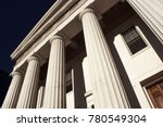 old historic federal style... | Shutterstock . vector #780549304
