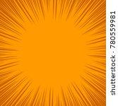 dynamic pattern in orange tones....   Shutterstock . vector #780559981