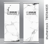 roll up business brochure...   Shutterstock .eps vector #780564835