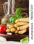 bread sticks with rosemary ...   Shutterstock . vector #780567247