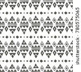 vector seamless pattern with... | Shutterstock .eps vector #780575065