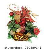 christmas table decoration... | Shutterstock . vector #780589141