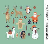 vector illustration set  of... | Shutterstock .eps vector #780589417