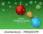 christmas light vector... | Shutterstock .eps vector #780600199