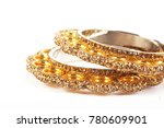 attractive bangles for... | Shutterstock . vector #780609901