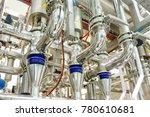 industrial factory equipment... | Shutterstock . vector #780610681