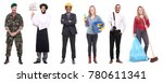 group of people with different... | Shutterstock . vector #780611341