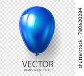 realistic 3d render blue... | Shutterstock .eps vector #780620284