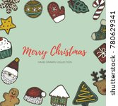 merry christmas holiday...   Shutterstock .eps vector #780629341