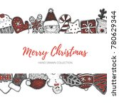 merry christmas holiday...   Shutterstock .eps vector #780629344