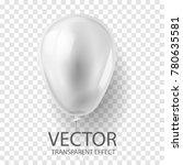 realistic 3d render white... | Shutterstock .eps vector #780635581