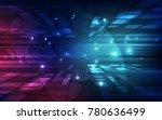 vector digital global... | Shutterstock .eps vector #780636499