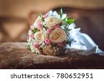 bridal bouquet   bouquet  bunch ... | Shutterstock . vector #780652951