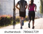 urban sports  healthy young... | Shutterstock . vector #780661729