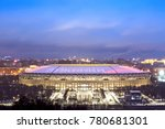 moscow  russia   december  2017 ... | Shutterstock . vector #780681301