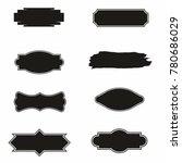 banner vintage logo set | Shutterstock .eps vector #780686029