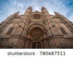 palma de mallorca  spain  ... | Shutterstock . vector #780687511