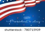 happy presidents day.... | Shutterstock .eps vector #780715939