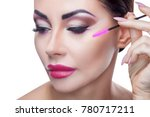 portrait of a beautiful woman...   Shutterstock . vector #780717211