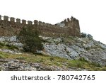 the ruins of the ancient... | Shutterstock . vector #780742765