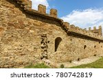 the ruins of the ancient... | Shutterstock . vector #780742819