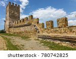 the ruins of the ancient... | Shutterstock . vector #780742825