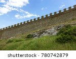 the ruins of the ancient... | Shutterstock . vector #780742879