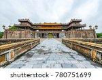 hue   vietnam. december 08 ... | Shutterstock . vector #780751699