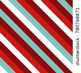 seamless pattern in christmas...   Shutterstock .eps vector #780768871