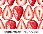 Seamless Pattern With Ripe...