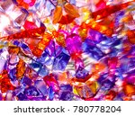 background of colored glass...   Shutterstock . vector #780778204
