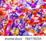 background of colored glass...   Shutterstock . vector #780778234