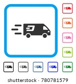 fast dash delivery car icon.... | Shutterstock .eps vector #780781579